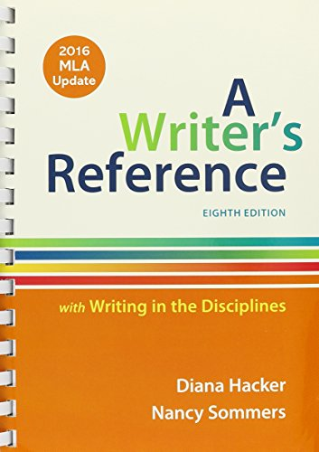 9781319112332: Writer's Reference with Writing in the Disciplines with 2016 MLA Update 8E & LaunchPad for A Writer's Reference (Twelve Month Access)