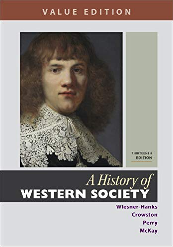 9781319112417: A History of Western Society, Value Edition, Combined Volume
