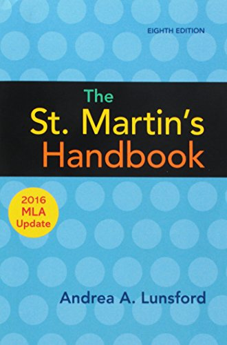 9781319120269: The St. Martin's Handbook with 2016 MLA update