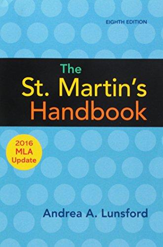 9781319120269: The St. Martin's Handbook with 2016 MLA update