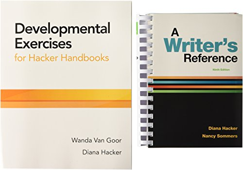 9781319153779: A Writer's Reference 9e and Developmental Exercises for Hacker Handbooks