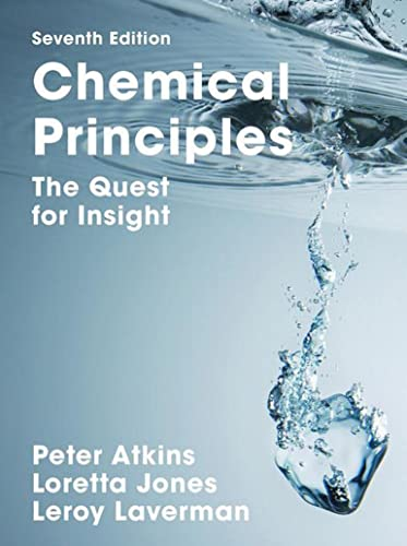 9781319154196: Chemical Principles: The Quest for Insight