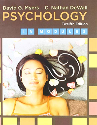 Loose-leaf Version for Psychology in Modules & LaunchPad for Psychology in Modules Loose-leaf Version for Psychology in Modules & LaunchPad for Psychology in Modules (Six-Month Access), David G. Myers; C. Nathan DeWall, New, 97813191
