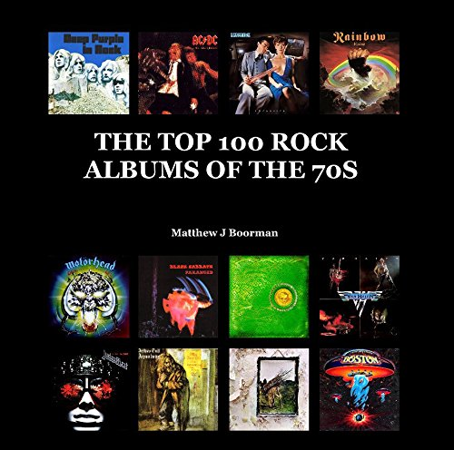9781320094177: THE TOP 100 ROCK ALBUMS OF THE 70S