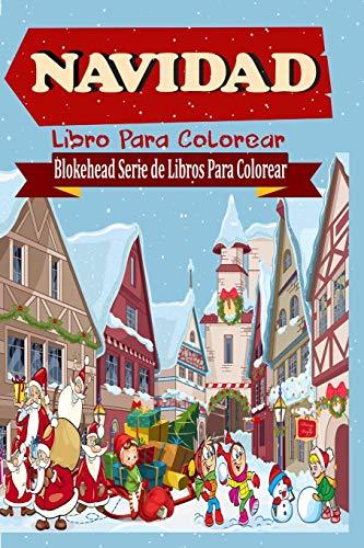 9781320453066: Navidad Libro Para Colorear (Spanish Edition)