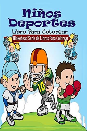 Niños Deportes Libro Para Colorear: Blokehead, El