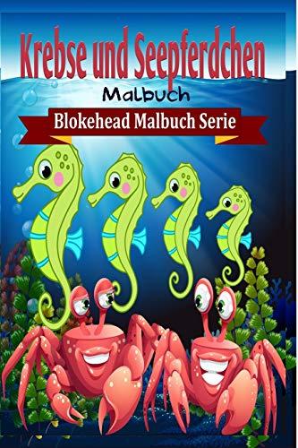 9781320474535: Krebse und Seepferdchen Malbuch