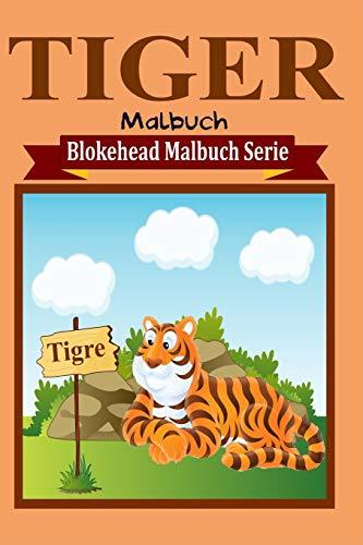 9781320479011: Tiger Malbuch (German Edition)