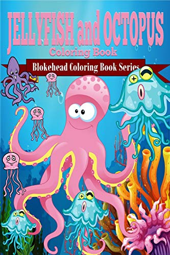 9781320567862: Jellyfish and Octopus Coloring Book