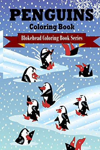 9781320570619: Penguins Coloring Book