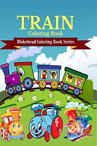 9781320607643: Train Coloring Book