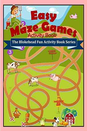 9781320623698: Easy Maze Games Activity Book