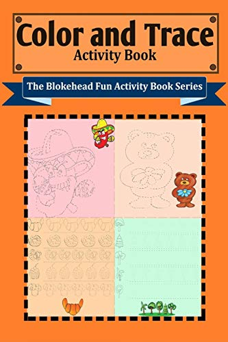 9781320633321: Color and Trace Activity Book