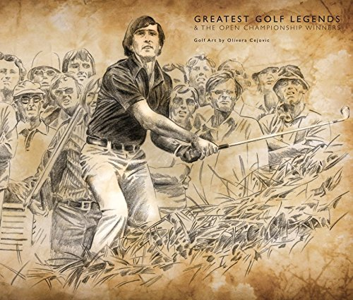 9781320719094: Greatest Golf Legends & The Open Championship Winners