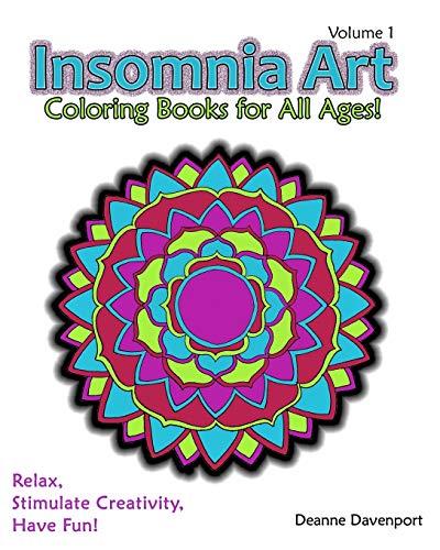 9781320825238: Insomnia Art Coloring Book