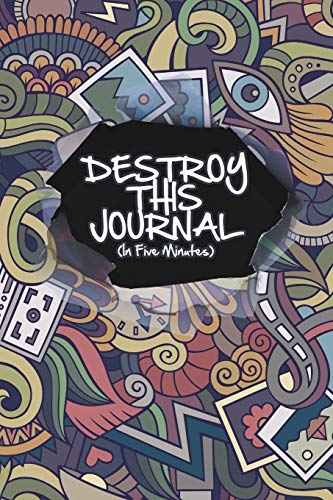 9781320866255: Destroy This Journal (In Five Minutes)