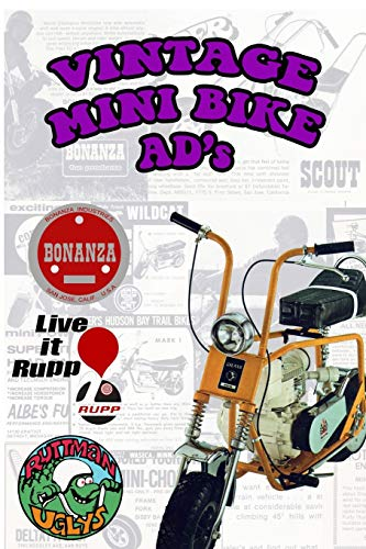 9781320884754: Vintage Mini Bike Ads From The 60's and 70's