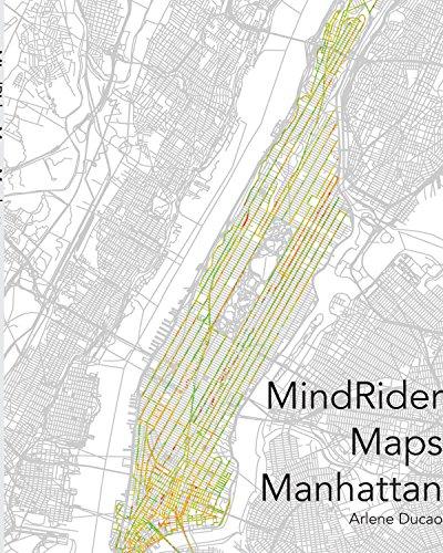 9781320975773: MindRider Maps Manhattan [special edition]