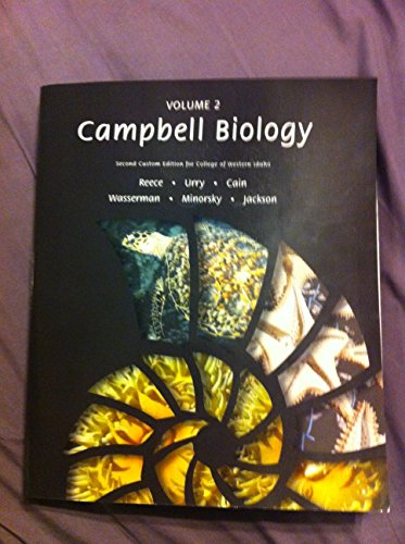 9781323002810: Campbell Biology Volume 2, Second Custom Edition for College of Western Idaho