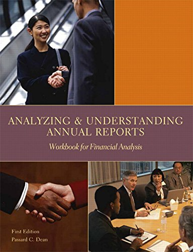 9781323003374: Analyzing and Understanding Annual Reports: Workbook for Financial Analysis