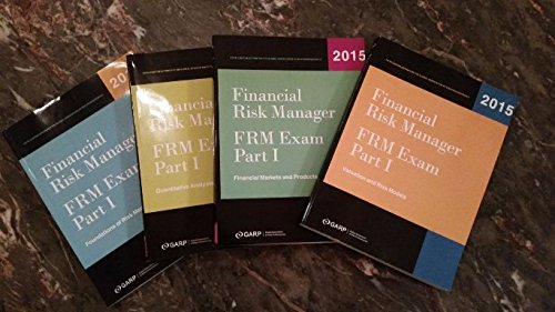 9781323011201: Financial Risk Manager Exam Part I 4 Books