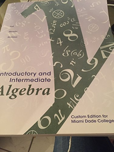 9781323029640: introductory intermediate algebra
