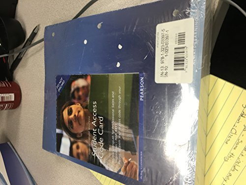 9781323033975: Selling Today Partnering to Create Value 13th edition with student access code card new still wrapped in original packaging