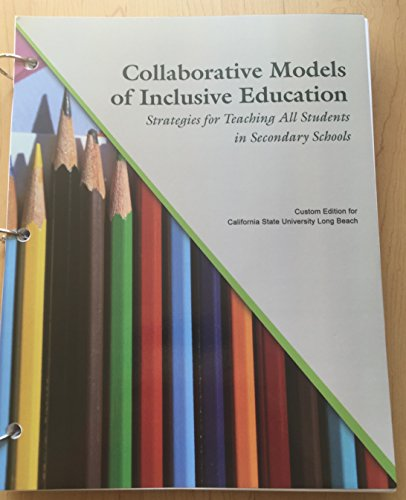 9781323039977: Collaborative Models of Inclusive Education
