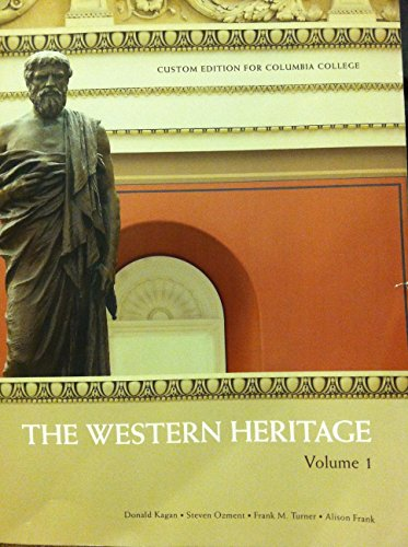9781323041130: The Western Heritage Volume 1 Custom Edition for Columbia College