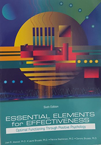 9781323066669: essential elements for effectiveness