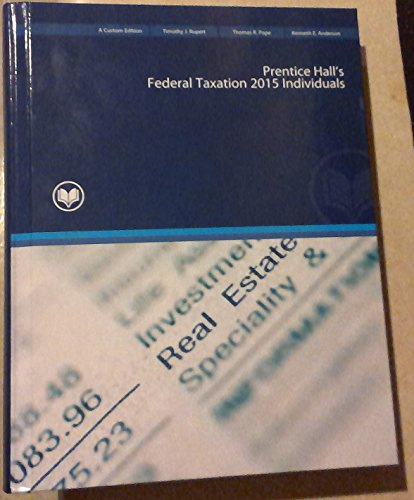 9781323067949: Prentice Hall's Federal Taxation 2015 Individuals