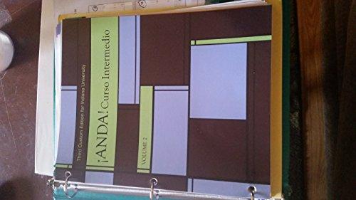 9781323131602: ANDA! Curso Intermedio Indiana University Third Custom Edition Volume 2