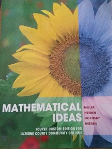 9781323133460: Mathematical Ideas
