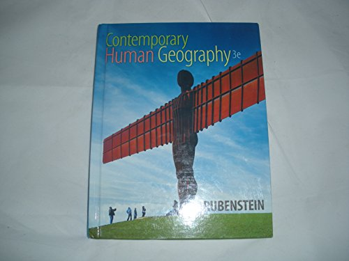 9781323133521: Contemporary Human Geography 3rd Edition