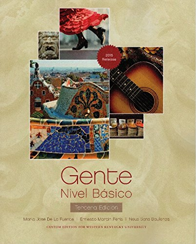 9781323141069: Gente: Nivel Basico 2015 Release, with MySpanishLab Access Code (Custom for Western Kentucky University)