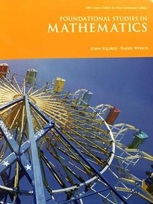 9781323141212: Foundational Studies in Mathematics Text Only