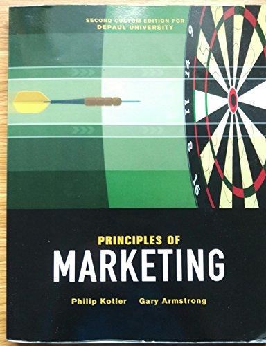 9781323142547: Principles of Marketing (Second custom edition for DePaul University)