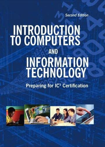 9781323144183: Introduction to Computers and Information Technology (2nd Edition)