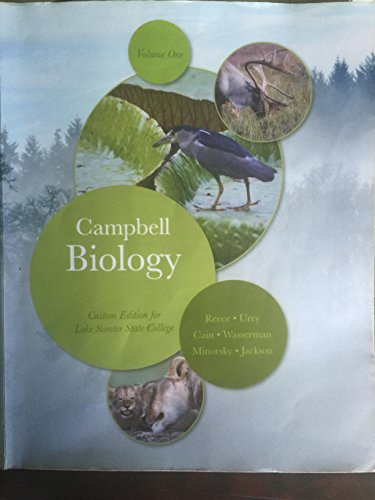9781323144800: Campbell Biology Custom Edition Volume 1 (LSSC)