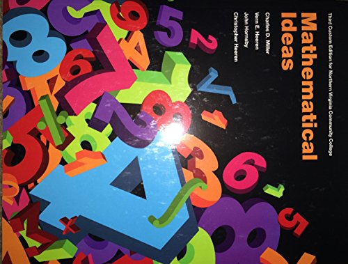 9781323145944: Mathematical Ideas
