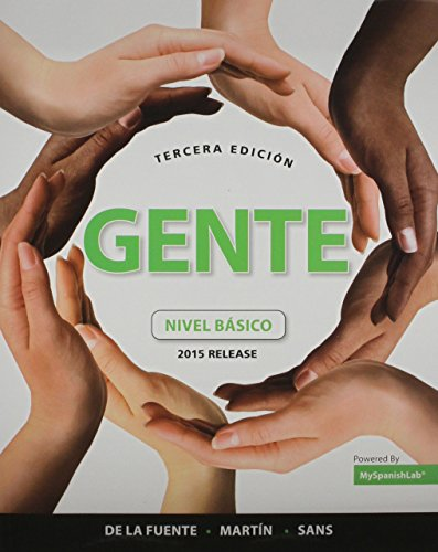 9781323148730: Gente Elementary MyLab Spanish Package for University of Massachusetts Amherst (2nd Edition)
