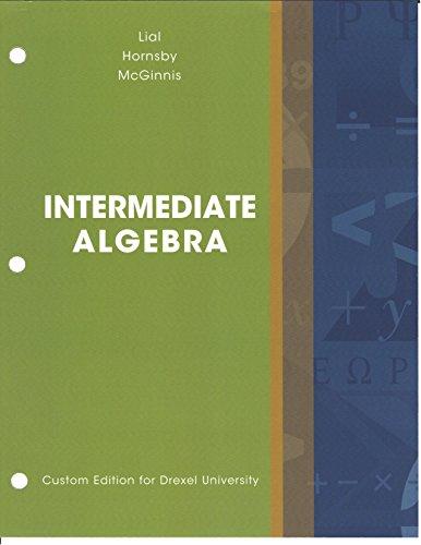 9781323156506: Intermediate Algebra Drexel University