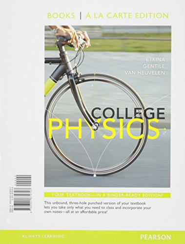 9781323160183: College Physics Package for Purdue University
