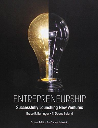 9781323164891: Entrepreneurship: Successfully Launching New Ventures Purdue University