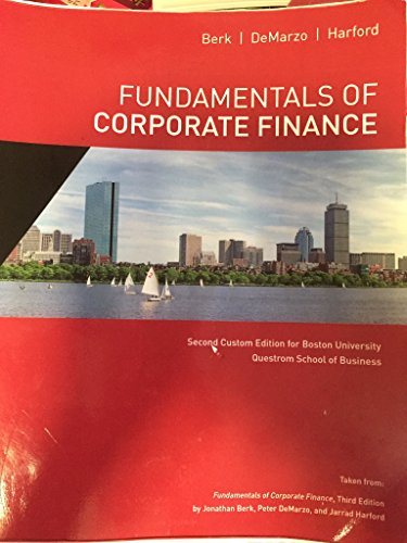 9781323180037: FUNDAMENTALS OF CORPORATE FINANCE