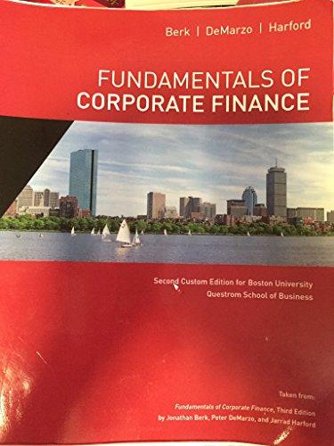 9781323180037: FUNDAMENTALS OF CORPORATE FINANCE