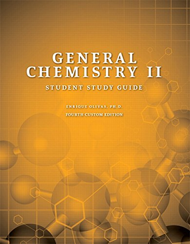9781323232583: General Chemistry II, Student Study Guide (4th Edition)