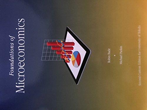 9781323237892: Foundations of Microeconomics, University of Toledo