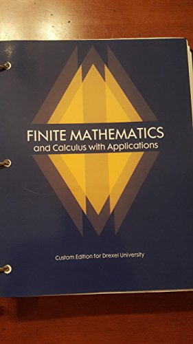 9781323243787: Finite mathematics and Calculus with Applications