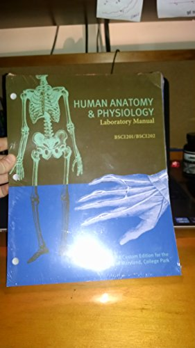 9781323257517: Human anatomy and physiology university of Maryland lab manual